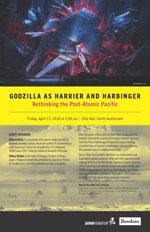 Godzilla at Bowdoin